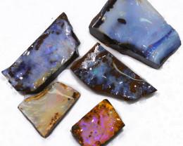 157.30CTS  Boulder Opal Rough/Rub Pre-Shaped PARCEL --  S1192