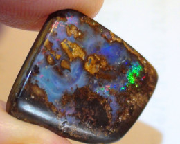 13.35 ct Beautiful Multi Color Queensland Boulder Opal