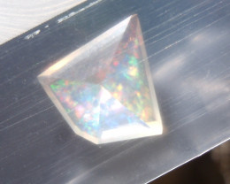 1.85 Ct Faceted Contraluz Fire Mexican Opal