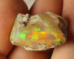 21cts Cutting  Rough Ethiopian Wello Opal