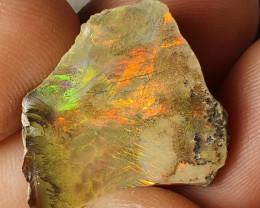 15cts Cutting  Rough Ethiopian Wello Opal