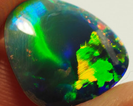 3,10CT  LIGHTNING RIDGE BRIGHT OPAL DOUBLET AL110