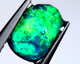 0.90 CTS LIGHTNING RIDGE OPAL RUB   DT-8622