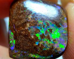 7.65 cts Boulder Opal Yowah Stone F85