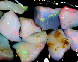 28.50-CTS COOBER PEDY WHITE OPAL ROUGH PARCEL  DT-8643