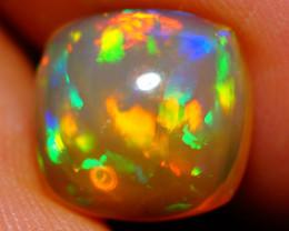 3.24 CT 10X10 MM  Broad Patchwork!! Welo  Ethiopian Opal-DB900