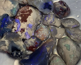 NOBBY TO GAMBLE; 280 CTs of Lightning Ridge Rough Opal #1178