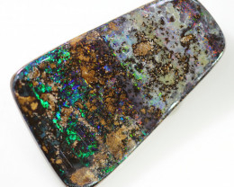 9.75 CTS BOULDER OPAL STONE FROM WINTON  [BMA8396]