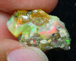 7.90Ct Multi Color Ethiopian Welo Rough 21P148