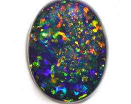 4.39CT Black Opal Stone [CS66]