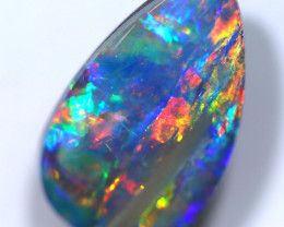 2.60 CTS OPAL SHELL FOSSIL DOUBLET[SEDA2570]