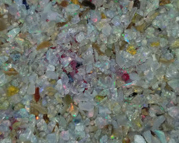 OPAL CHIPS PARCEL 25 CARATS ETHIOPIAN WELO OPAL ROUGH CHIPS RO999