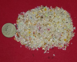 OPAL CHIPS PARCEL 50 CARATS ETHIOPIAN WELO OPAL ROUGH CHIPS RO999