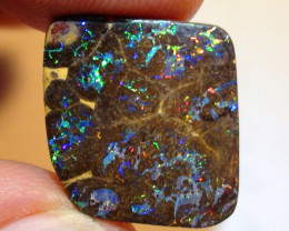 11.40 ct $1 NR Stunning Koroit Boulder Opal Matrix With Gem Multi Color