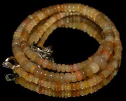 44 Crts Natural Ethiopian Welo Fire Opal Beads 88