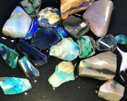 Rough Opal Lot 67.50 cts Black Opals Parcel Lightning Ridge BORB150919