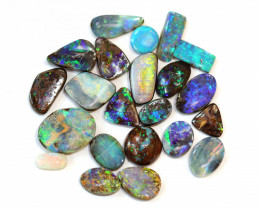 29CT Boulder Opal Stone X 12 [CS70]