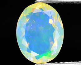 1.36 Cts Very Rare Natural Ethiopian Opal Loose Gemstone