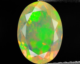 1.38 Cts Very Rare Natural Ethiopian Opal Loose Gemstone