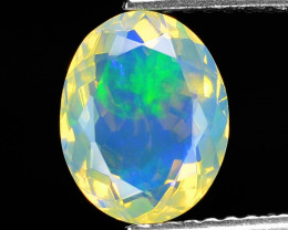 1.21 Cts Very Rare Natural Ethiopian Opal Loose Gemstone