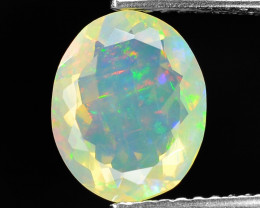 1.34 Cts Very Rare Natural Ethiopian Opal Loose Gemstone