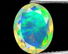 1.35 Cts Very Rare Natural Ethiopian Opal Loose Gemstone