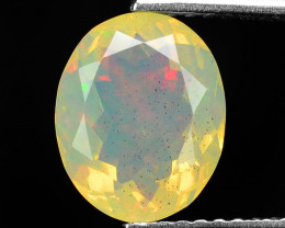 1.63 Cts Very Rare Natural Ethiopian Opal Loose Gemstone