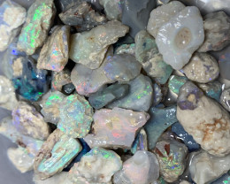 HIGH POTENTIAL ROUGH; 340 CTs of Lightning Ridge Rough Opal #1251