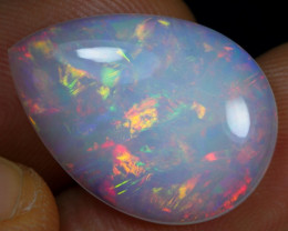 8.35cts Beautiful Rainbow Fire Natural Ethiopian Welo Opal