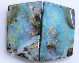 27.15 CTS -BOULDER OPAL  POLISHED PAIR  NC-2502 GC