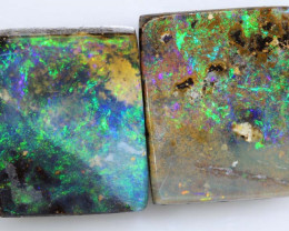 9.35 CTS BOULDER OPAL POLISHED  PAIR NC-2489 GC