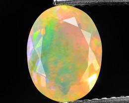 1.24 Cts Very Rare Natural Ethiopian Opal Loose Gemstone
