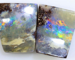 13.20 CTS -BOULDER OPAL  POLISHED PAIR NC-2495 GC