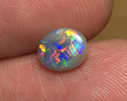 0.94ct Lightning Ridge Crystal Opal LRS569
