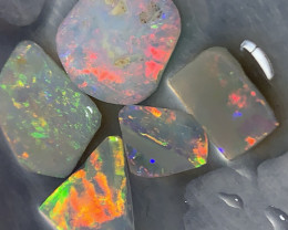 STUNNING DARK CRYSTAL RUBS; 6.5 CTs of Dark Opal Rubs #1256