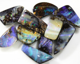 30.65 CTS BOULDER OPAL PARCEL-SMALL STONES  [BMA8440]