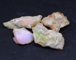 27.00Ct Multi Color Ethiopian Welo Gamble Rough Lot 22P305
