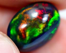 3.40cts Natural Ethiopian Cabochons Smoked Opal / JU369