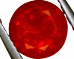 1.21- CTS MEXICAN FIRE OPAL  FACETED STONE   FOB-1908