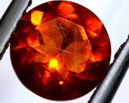 0.90- CTS MEXICAN FIRE OPAL  FACETED STONE   FOB-1910