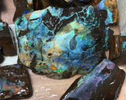 2.27kg Nice Boulder Opal Rough Parcel