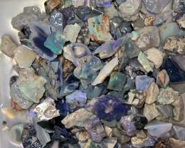 ROUGH PARCEL; 700 CTs of Lightning Ridge Rough Opals #1285