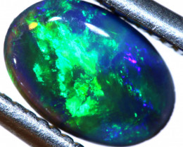 N 2 -0.53CTS  L.RIDGE BLACK OPAL  POLISHED STONE TBO-9809