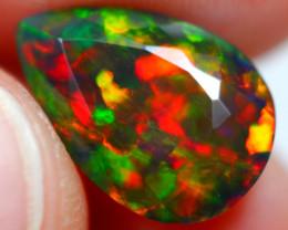 2.46cts Natural Ethiopian Cabochons Smoked Opal / JU557