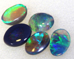 N 4   -1.76CTS  L.RIDGE BLACK OPAL  POLISHED STONES PARCEL TBO-9845