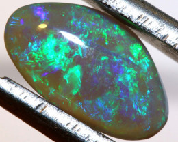 N4    -1.24CTS  L.RIDGE BLACK OPAL  POLISHED STONES TBO-9853