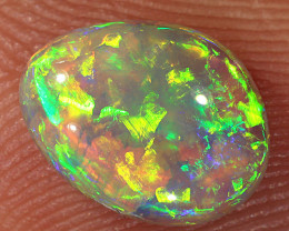 1.2ct 9x7mm Solid Lightning Ridge Crystal Opal [LO-1733]