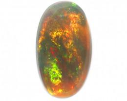 2CT  SEMI BLACK CRYSTAL Opal Stone [CS86]