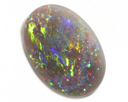 1.5CT  SEMI BLACK CRYSTAL Opal Stone [CS83]