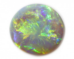 1.3CT SEMI BLACK CRYSTAL OPAL STONE [CS88]